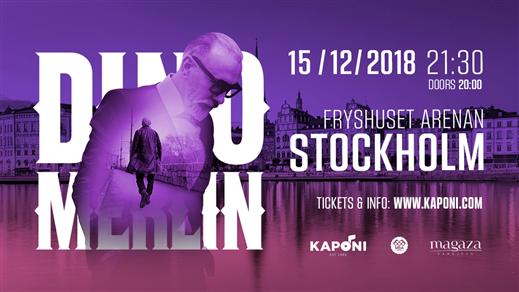 Bild för Dino Merlin - Stockholm, 2018-12-15, Fryshuset