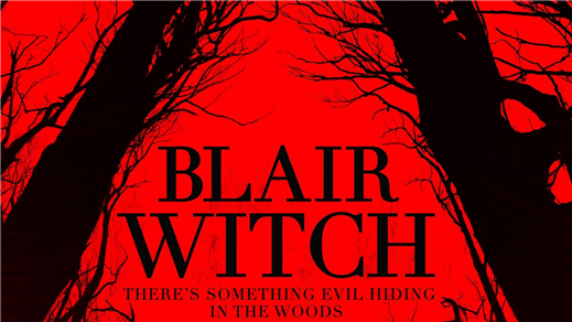 Bild för Blair Witch (Sal2 fr15 Kl20:45 1h29min), 2016-10-06, Saga Salong 2
