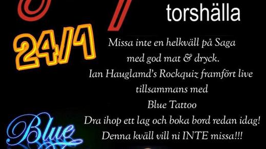 Bild för Ian Haugland (Europe) Rockquiz & Blue Tattoo, 2020-01-24, Saga Salongen Torshälla