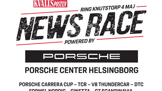 Bild för KvP NewsRace Powered by Porsche, 2019-05-04, Ring Knutstorp