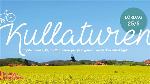 Bild för Kullaturen 25 maj 2019, 2019-05-25, Kattegattleden genom Kullabygden med start