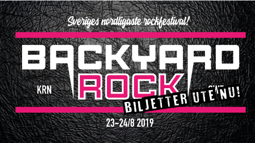 Bild för Backyard Rock 2019, 2019-08-24, Backyard Rock