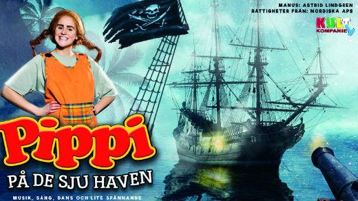 Bild för Pippi på de sju haven, 2018-02-25, Jönköpings Teater