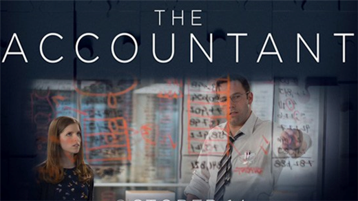 Bild för The Accountant (Sal.3 15år Kl.21:00 2h08min), 2016-11-19, Saga Salong 3