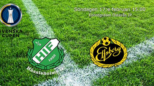 Bild för Hässleholms IF - IF Elfsborg BORTASUPPORTERS, 2019-02-17, Österås IP