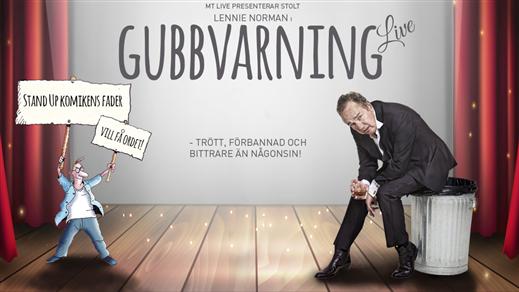 Bild för Lennie Norman - Gubbvarning Live, 2018-02-10, Ersboda Folkets Hus