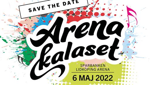 Bild för ArenaKalaset Lidköping 2022, 2022-05-06, Sparbanken Lidköping Arena