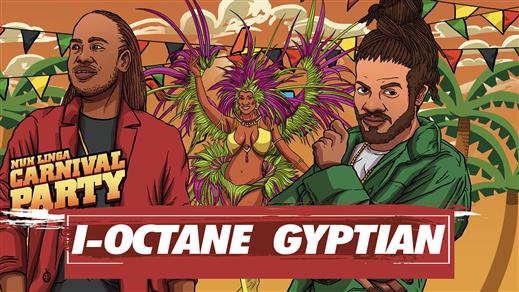 Bild för Gyptian & I-Octane Live : Carnival Party, 2018-12-14, Kraken Rökerigatan 1D