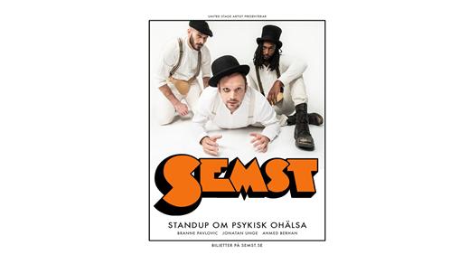 Bild för SEMST - Standup om psykisk ohälsa, 2020-11-20, Nalen – Stora Salen, Stockholm