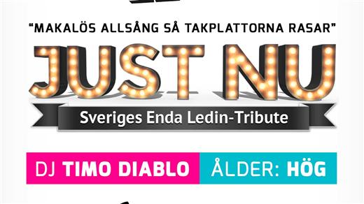"""Bild för 80-90 talskväll med """"JUST NU"""", 2016-10-01, Björksäter Event Hässleholm"""