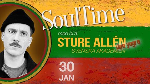Bild för SoulTime - Baktakt, 2019-01-30, Teatercaféet