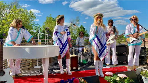 Bild för Vision - a tribute to ABBA, 2021-02-20, Vårgårda Kulturen
