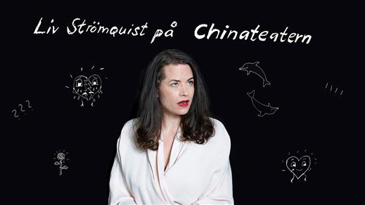 Bild för Liv Strömquist på China Teatern, 2019-11-06, China Teatern