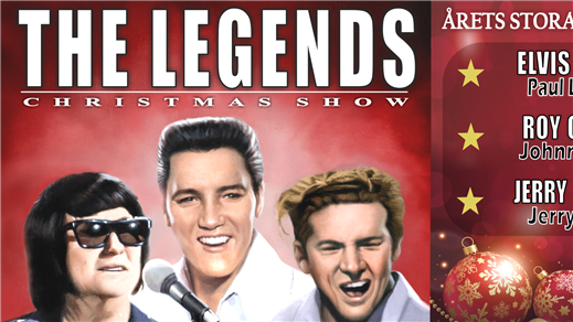 Bild för The Legends Christmas Show, 2018-12-20, Idun, Umeå Folkets Hus