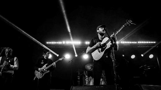 Bild för Johan Airijoki &Malmfältens Rockklubb + Mi von Ahn, 2018-10-04, Slaktkyrkan