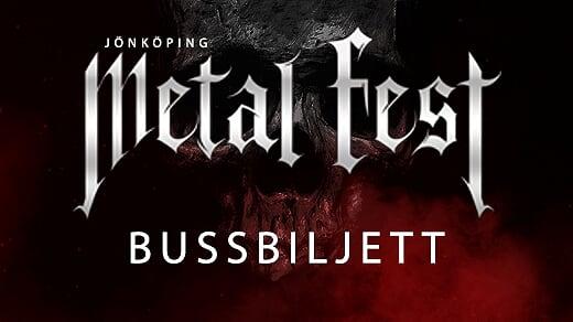 Bild för Bussbiljett Metal Fest, mars 2020, 2020-03-06, Norrahammar Folkets Hus