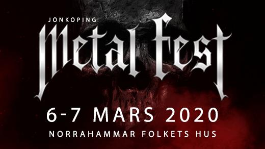 Bild för Jönköpings Metal Fest 2020 6-7 mars, 2020-03-06, Norrahammar Folkets Hus