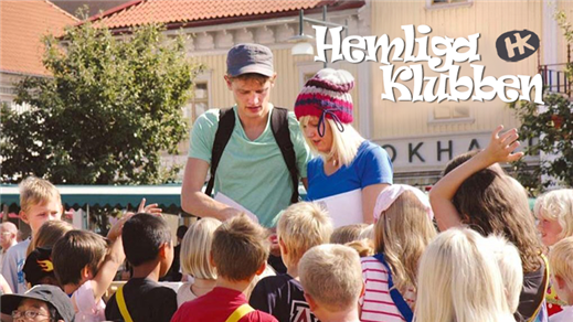 Bild för Hemliga Klubben - Deckarvandring 5 juli, 2019-07-05, Åmanska Parken