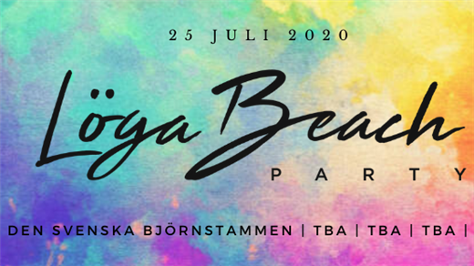 Bild för Löga Beach Party 2020, 2020-07-25, Löga Beach Party 2020