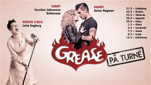Bild för Grease - På Turné EXTRAFÖRESTÄLLNING, 2020-03-07, Idun, Umeå Folkets Hus