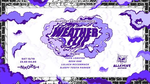 Bild för Alleycat Anthem presents: Weather Flip, 2019-10-12, Inkonst