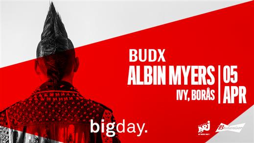Bild för Bigday - Albin Myers - Live (Borås), 2019-04-05, IVY, Borås