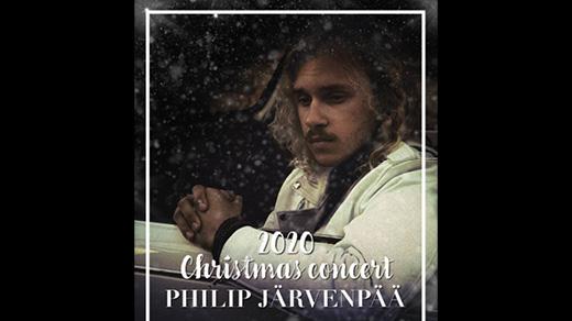 Bild för Christmas concert Philip Järvenpää, 2020-12-12, Stora Salen