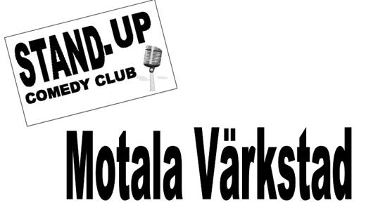 Bild för Motala Värkstad - Stand up comedy club, 2016-09-29, Café Bar  Kök Sjöbris