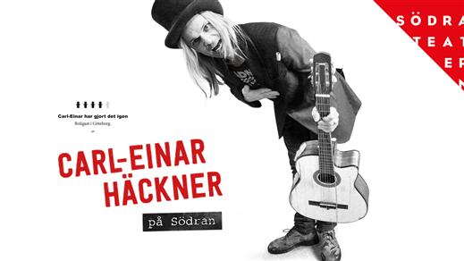 Bild för Carl-Einar Häckner på Södra Teatern 21/9 19.00, 2018-09-21, Södra Teaterns Stora Scen