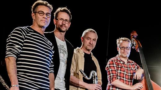 Bild för Jazzcafé: Martin Brandqvist kvartett, 2020-02-05, Teatercaféet