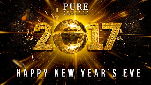 Bild för NYÅRSAFTON 2016/2017 PÅ PURE NIGHTCLUB, 2016-12-31, PURE Nightclub