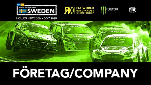 Bild för World RX of Sweden - Företagsbiljetter - 2020, 2020-08-20, Höljesbanan