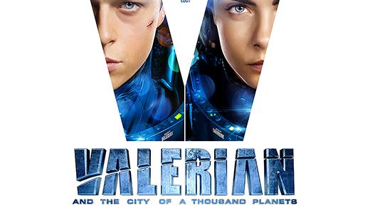 Bild för Valerian and the City of a Thousand Planets  11 år, 2017-08-02, Biosalongen Folkets Hus