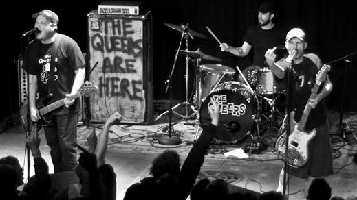 Bild för THE QUEERS (us) / Twin Pigs / Käftsmäll, 2019-04-11, Slaktkyrkan