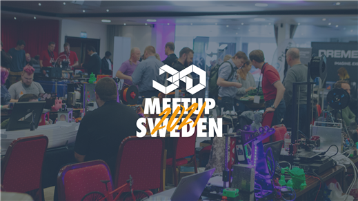 Bild för 3D Meetup Sweden 2021, 2021-03-13, Tryckeriet