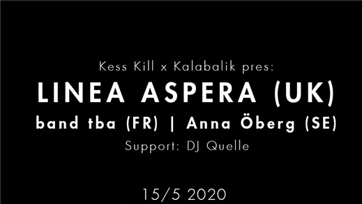 Bild för Linea Aspera + Support, 2020-05-15, Inkonst