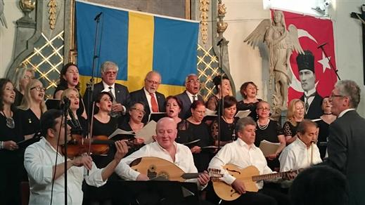 Bild för Stockholms Turkiska Musikkör, 2018-05-12, Moriska Paviljongen
