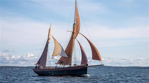Bild för Uppsala Hamn - Skarholmen - SLUTSÅLT, 2021-06-12, Forskningsfartyget Sunbeam