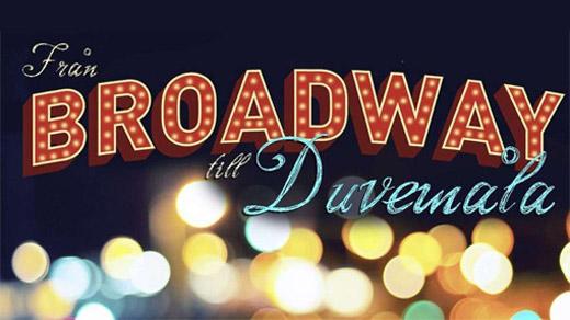 Bild för Från Broadway till Duvermåla, 2016-09-24, Motala CC Teatersalongen