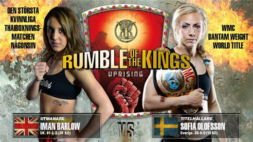 Bild för Rumble of the Kings, 2017-11-25, Partille Arena | Rumble of the Kings