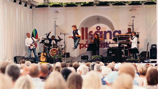 Bild för Allsång på Gästis 2 augusti, 2018-08-02, Allsång på Gästis Borensberg