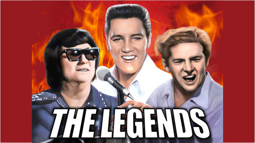 Bild för The Legends - Movie & TV Special (Obs -nytt datum), 2021-11-17, Stora Salen