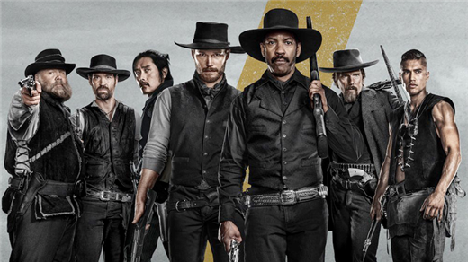 Bild för The Magnificent Seven (Sal2 fr15 Kl.18:30 2h12min), 2016-09-23, Saga Salong 2