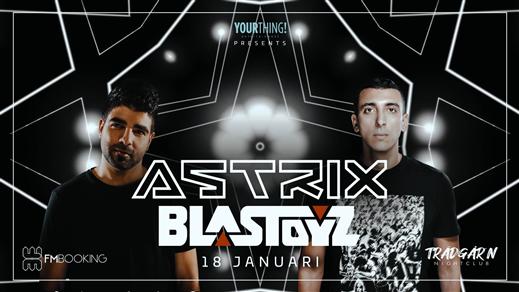 Bild för Astrix & Blastoyz - Trädgårn - Lördag 18 Januari, 2020-01-18, TRÄDGÅR'N