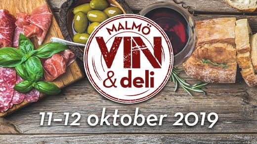 Bild för Malmö Vin & Deli LÖRDAG 2019, 2019-10-12, Malmö Mässan