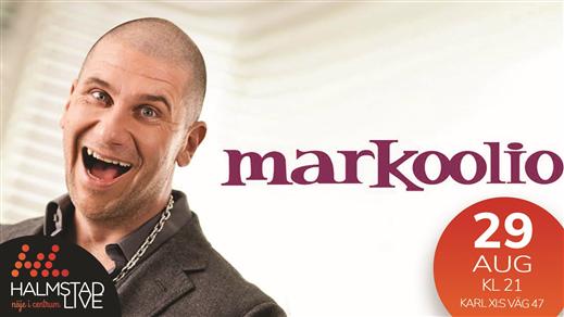 Bild för Markoolio, 2021-04-10, Halmstad Live