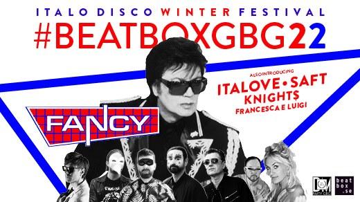 Bild för BeatBoxGbg 2022 -Italo Disco Festival, 2022-01-29, Musikens Hus