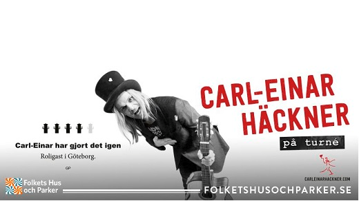 Bild för CARL-EINAR HÄCKNER PÅ TURNÉ, 2018-08-17, Vetlanda Folkets Park