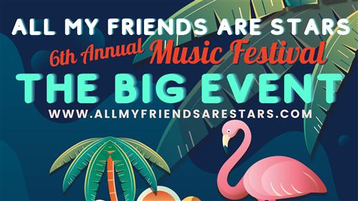Bild för All My Friends Are Stars 6th Annual Music Festival, 2021-08-28, Lindholmen Streetfood Market
