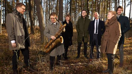 Bild för Fredrik Lindborg trio med stråkar, 2021-09-11, Hallsbergs Jazz- och Bluesklubb